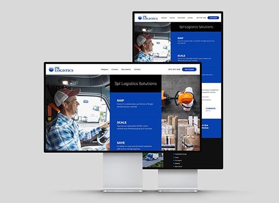 Logistics Company Web Design