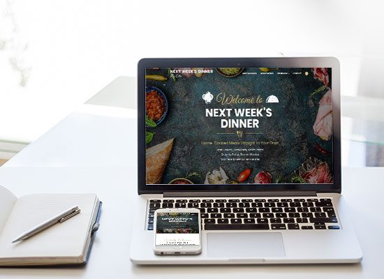 Personal Chef Website Design