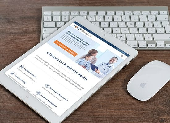 Physician Consulting Website