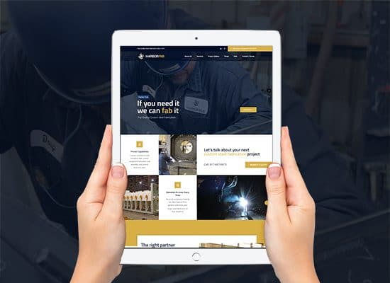 Industrial Industry Website Design