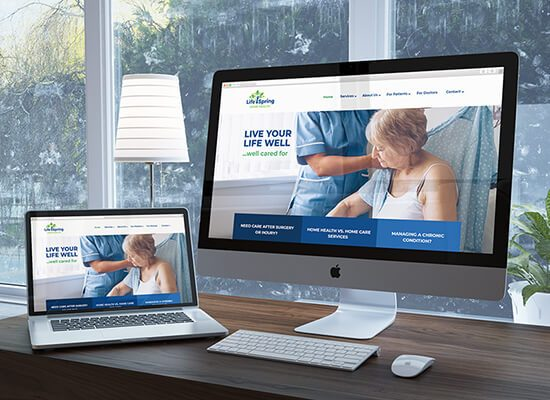 Home Health Provider Web Design