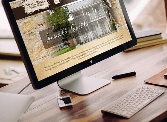 Website Design & Branding for A Custom Home Builder