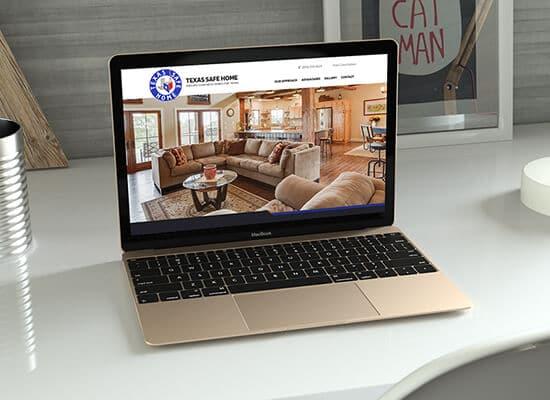 Concrete Home Builder Website Design