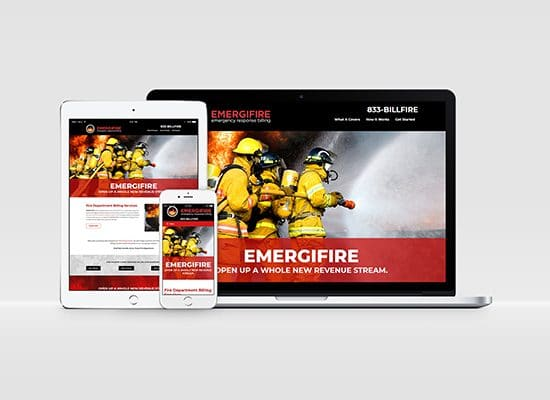 Fire Department Billing Services Website Design