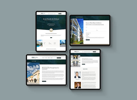 Real Estate Investing Website Design