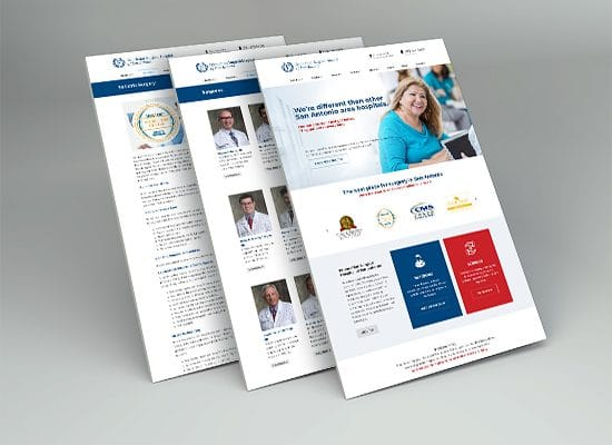 Health Provider / Surgical Hospital Website Design