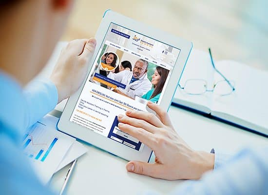 Dental Assistant Training School Website Design
