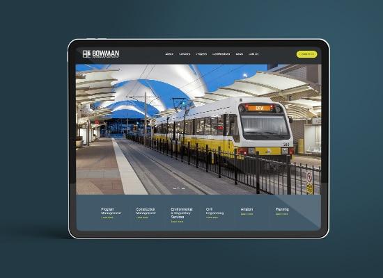 Civil Engineering Company Web Design