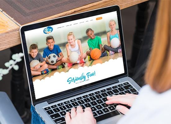Childcare and Recreation Center Website Design
